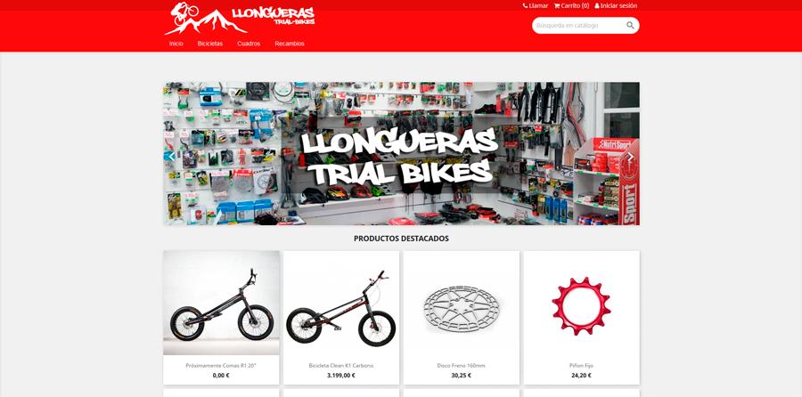 Llongueras Trial Bikes